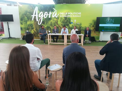 SKIN impact on regional law on short food supply chain in Apulia region