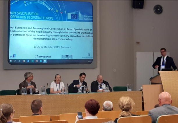 Central European and Transregional Cooperation in Smart Specialisation on the  Modernisation of the Food Industry through Industry 4.0 and Digitisation conference